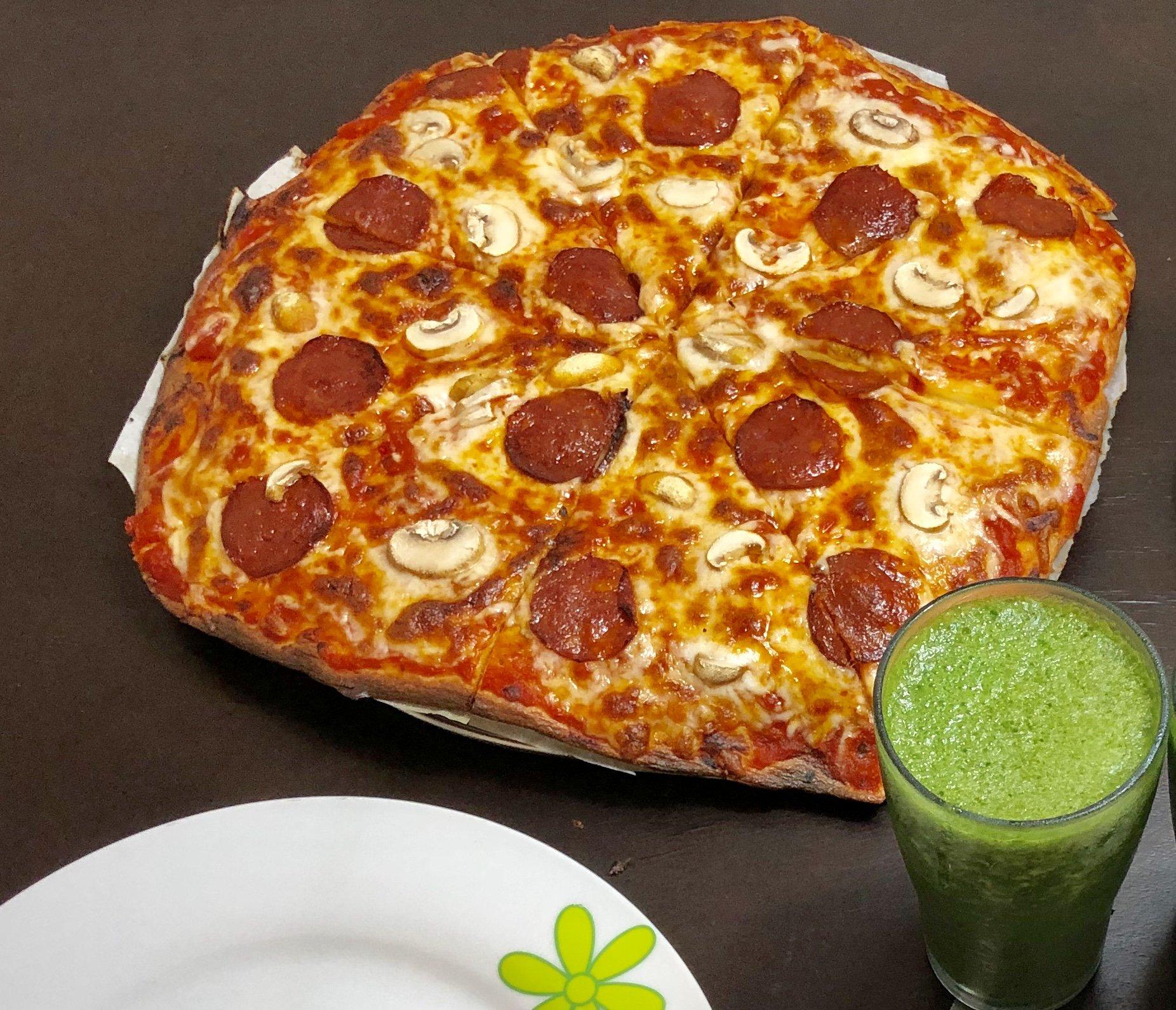 Keto Pepperoni Pizza Keto Kitchen Lebanon
